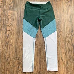 Outdoor Voices 7/8 Springs tri-color leggings